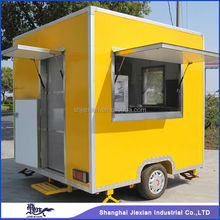 2015 Shanghai Jiexian noodle machine Food Van,Breakfast Mobile cart JX-FS250