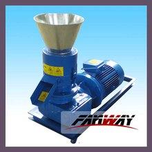 100-150 kg/h flat die wood pellet mill machine at low cost