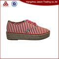Diseño Nuevo alta calidad zapato de lona