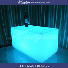 led table furniture with remote controller