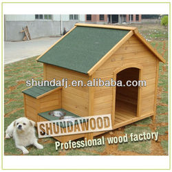 SDD0405 outdoor wood dog kennel unique dog houses