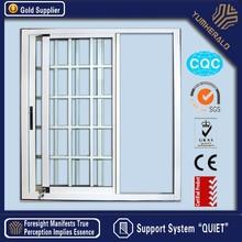 2015 novo Design personalizado modelos de alumínio janela grade