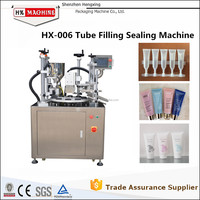 HX-006 Automatic Hair Color Creamr/Hand Cream Fill And Seal Machine