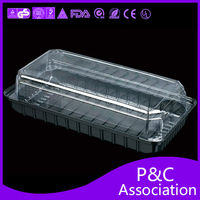 plastic food box frozen food box packaging