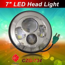 """chinese factory brightest 7"""" LED motorcycle lamp accessories for 4x4 offroad"""
