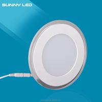 Amazing Price !!! New AC90-265V 3+2W Round PMMA Segmented (Not Synchronization) LED Panel Light