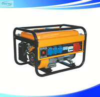 CE Approved Hand Start Motorcycle Muffler Low Noise 168f-1 Engine 8500w Gasoline Generator