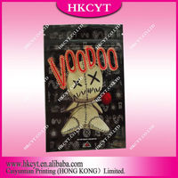 Wholesale Voodoo spice herbal incense bag / 4g 10g voodoo potpourri bag / printed foil ziplock bags