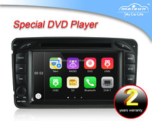 "Hot-Selling 7"" Car DVD GPS for Benz W209 with CAN Bus&Radio"