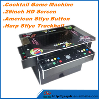 cocktail arcade electronic game machine with 1000 games in 1