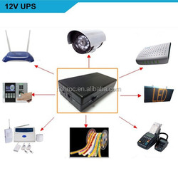12v lithium battery ups mini ups online ups portable ups eco mini ups for Security / Monitoring / Alarm
