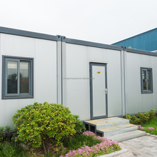 2015 Best Seller Stable Recyclable 20 Ft Small Prefab House / Prefab House Kits Container Moveable