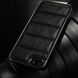 New Arrival Snake Leather Case For iPhone 5s 5g back case for iPhone 5s