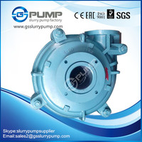 gold solid horizontal volute passage centrifugal dredging usage slurry pump