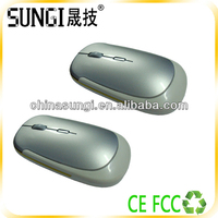 new year gift 2014 2.4g super slim wireless mouse