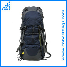 Deluxe Travel Backpack Hiking Rucksack 45+5L with Rain Cover
