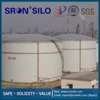 Oil Tank For Food Oil or Fuel Oil Storage SRON Brand Turn-key Solution