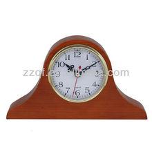 home decoration wooden standing mantel clocks
