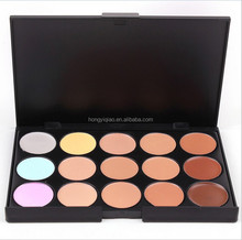 New Professional 15 Color Make Up cream Camouflage Concealer Palette