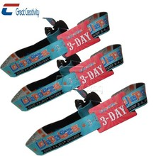 Custom Printed Baseball/Basketball for All Sports Wristbands with Encoding and Rush Delivery