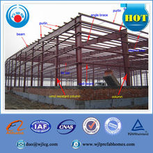 China prefabricated steel warehouse shed, steel structure house