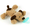 wholesale pacifiers baby/unique baby plush toy with pacifier