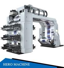 HERO BRAND 150M/mins HIGH SPEED 4 colour Flexo Printing Machine Price