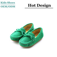Baby Boy Girls Kid New Peas Leather Shoes Casual Breathable Soft Children Loafer