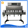semi-automatic small label shrink wrapping machine for bottle cap