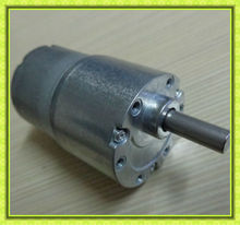 low noise 37mm dia high torque reversible low speed small gearbox motor dc 24volt