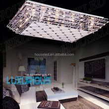 5 LED light strip leading 15W sparkling crystal chandeliers