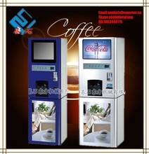Automatic coin operated 3 hot nescafe coffee vending machine price