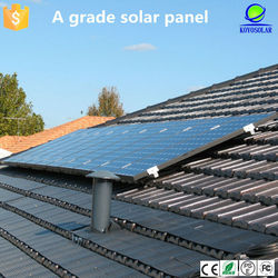 2015 new upgrade 250W poly solar panel for home