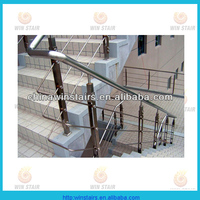 movable stainless steel sair railing