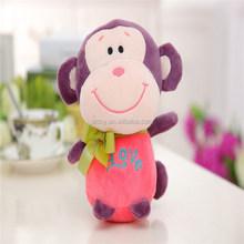 custom plush monkey , stuffed monkey plush toy, soft plush toy monkey