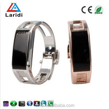 New Products 2015 D8 Smart Bluetooth Watch For Android and ios mobile phone with gold and silver