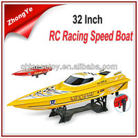 4.5m/s 80cm Large Radio Control Ship R/C Speed Plastic Toy Boat For Sale