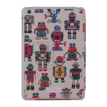 New launched products new design back cover for ipad air 2 ipad 6 pu leather printing case
