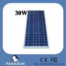 30w 18v high efficiency-polysilicon pv solar panel price