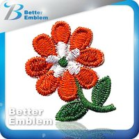 Embroidery Patch Laser Cut Flower