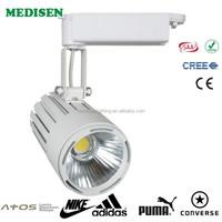 2015 Hot Sell 40w-50w Track Light high power 4 Line LED Track Light Engineering Lighting Dedicated Ra>85 3 years warranty