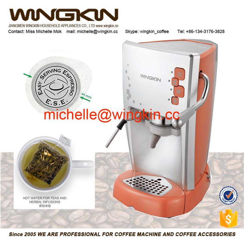pod making with 15bars high pressure capsule coffee machine