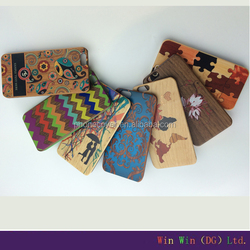 Promptional! Plastic Phone Cases Mobile accessories for general mobile 4g phone bag case Wooden Custom Back Cover Case