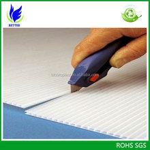 Best price for 4'x8' corflute board/corrugated plastic board/coroplast board