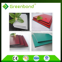 Greenbond aluminum screen room building materials of 3mm alucobond acp from china mannufacturer