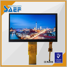 7inch tft lcd module WVGA 800*480 with capacitive touch screen