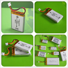 IEC62133 UN38.3 UL Approved 3.7v 500mah lipo battery / li-ion battery 3.7v 600mah / 3.7v 900mah li-ion battery