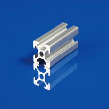 20X20 perfect surface T slot clear anodized aluminum profiles