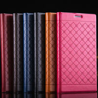 12p/lot N4 Case Luxury Top Quality PU Leather Flip Wallet Case For Samsung note5 ,black Flip Wallet Case Book Stand Cover