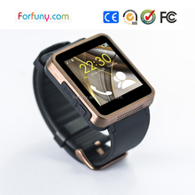 Square classic style appearance gsm calling smart watch phone for office workers